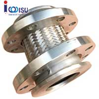 ROTATING FLANGE CONNECTION METAL BRAIDED HOSE